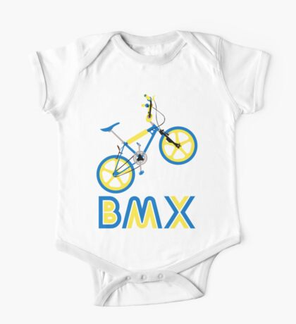 BMX (Blue & Yellow) One Piece - Short Sleeve
