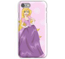 Princess Peach In Pink Dress iPhone Case/Skin