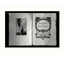 The Rubaiyat of Omar Khayyam  Art Print