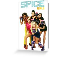 spice girl Greeting Card