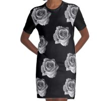 Cold beauty Graphic T-Shirt Dress