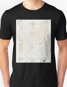 USGS TOPO Map Arizona AZ White Hills 315179 1960 62500 Unisex T-Shirt