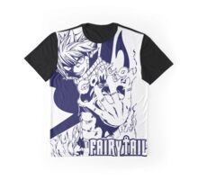 Come On - Natsu Dragneel Fairy Tail Anime (Blue) Graphic T-Shirt