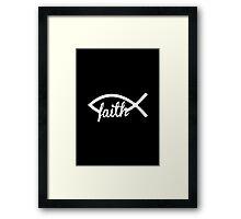 Christian Fish Framed Print