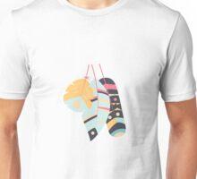 Tribal feather pattern 001 Unisex T-Shirt