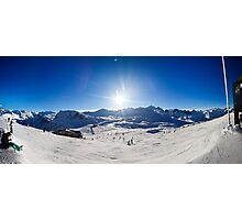 Val-D'Isere, Rhone-Alpes, France Photographic Print