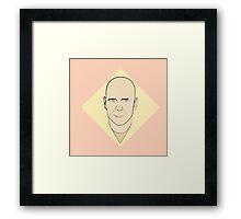 Bruce willis Art Framed Print