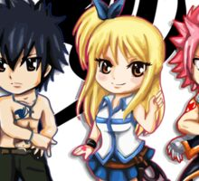 The Group of Fairy Tail Anime Sticker