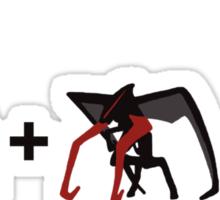 Muto + Muto = Mewtwo (Horizontal) Sticker
