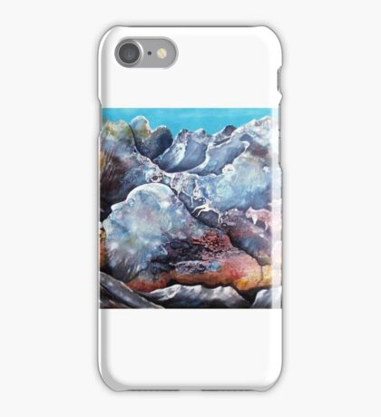 Mann im Gebirge iPhone Case/Skin