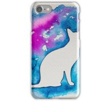 Kitty in blue  iPhone Case/Skin