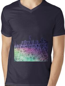 Skyscrapers Mens V-Neck T-Shirt