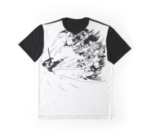 Everyone Lending Magic to Erza - Fairy Tail Anime Graphic T-Shirt