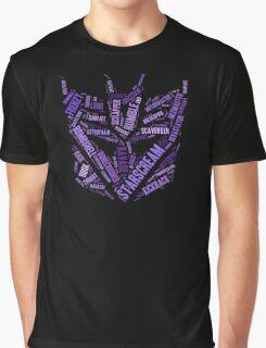 Transformers - Decepticon Wordtee Graphic T-Shirt
