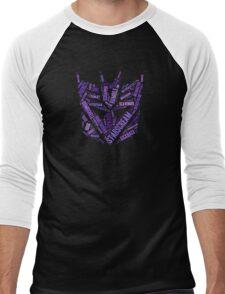 Transformers - Decepticon Wordtee Men's Baseball ¾ T-Shirt