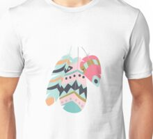 Tribal feather pattern 005 Unisex T-Shirt