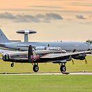 Avro Lancaster B.X FM213/C-GVRA landing by Colin Smedley