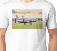 Avro Lancaster B.X FM213/C-GVRA landing Unisex T-Shirt