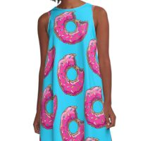 You can't buy happiness, but you can buy DONUTS. A-Line Dress