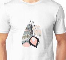 Tribal feather pattern 007 Unisex T-Shirt