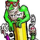Yoshi, Toad & Boo - Thug Life by Jæn ∞