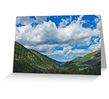 Pacific Crest Trail vista Greeting Card