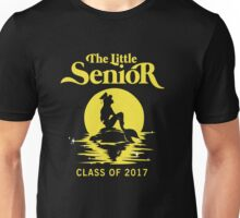 The Little Senior. Senior 2017. Yellow. Unisex T-Shirt