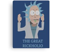 The Great Rickholio Rick And Morty Canvas Print