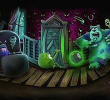 Haunted Monsters Inc by Kristofer Floyd