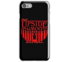Visit Upside Down iPhone Case/Skin