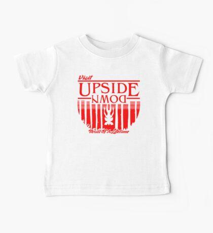 Visit Upside Down Baby Tee