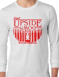 Visit Upside Down Long Sleeve T-Shirt