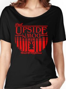Visit Upside Down Women's Relaxed Fit T-Shirt
