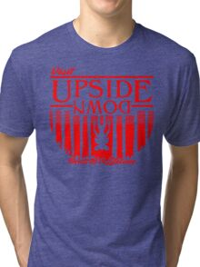 Visit Upside Down Tri-blend T-Shirt