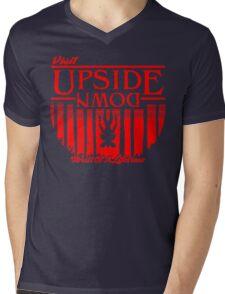 Visit Upside Down Mens V-Neck T-Shirt