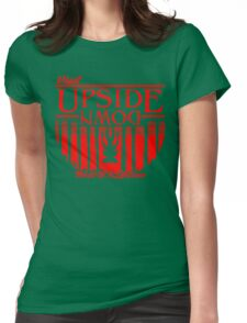 Visit Upside Down Womens Fitted T-Shirt