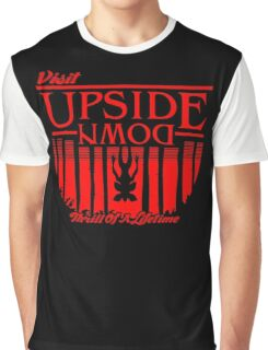 Visit Upside Down Graphic T-Shirt