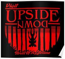 Visit Upside Down Poster