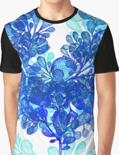 Blue Seaweeds Graphic T-Shirt
