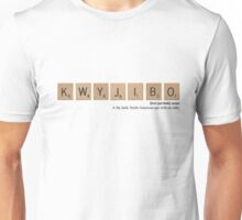 The Simpsons Scrabble - Kwyjibo Unisex T-Shirt