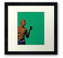 Tupac Framed Print