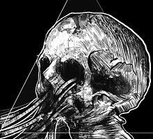 skull no.1 by ianschmidtart