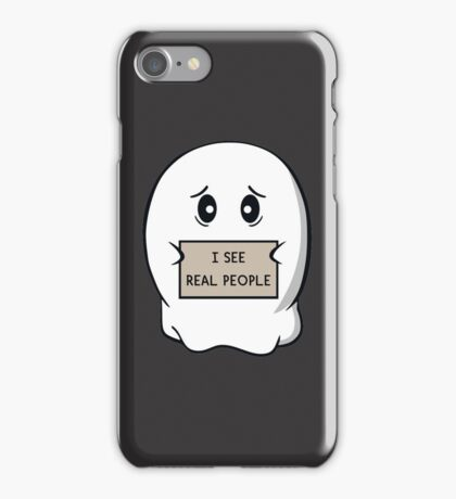 I See Real People iPhone Case/Skin