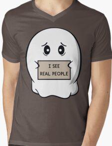 I See Real People Mens V-Neck T-Shirt