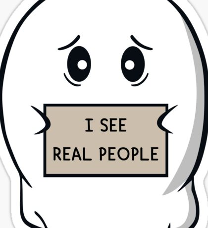I See Real People Sticker