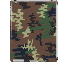 Colorful Camouflage seamless pattern.Woodland style iPad Case/Skin