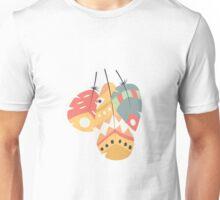 Tribal feather pattern 011 Unisex T-Shirt