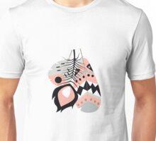 Tribal feather pattern 012 Unisex T-Shirt
