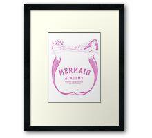 Mermaid Academy   Framed Print