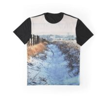 Snow Path Graphic T-Shirt